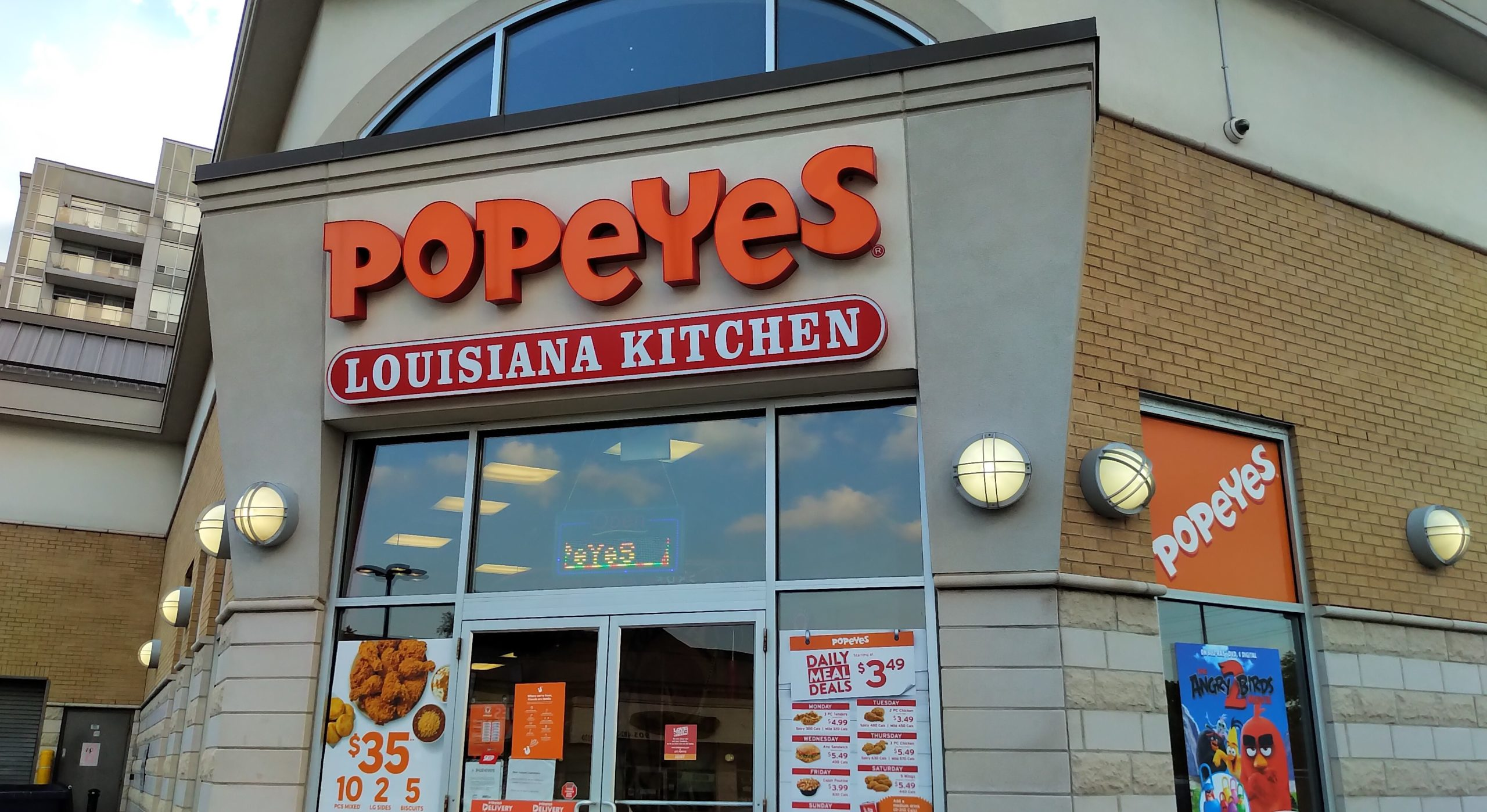 Popeyes - Tenant Mandate - S&H Realty Corporation, Brokerage
