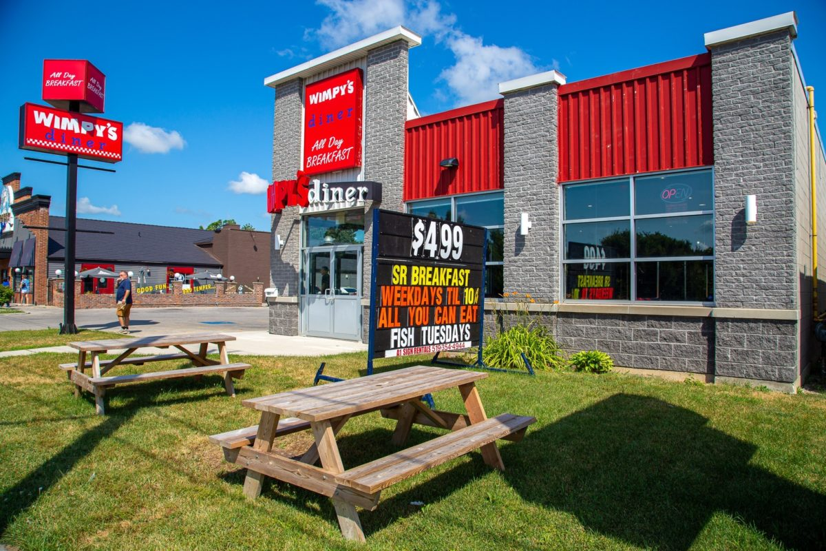 Wimpy's Diner - Tenant Mandate - S&H Realty Corporation, Brokerage